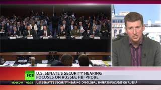 US Senate's security hearing focuses on Russia, FBI probe