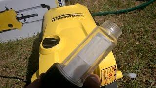 Фильтр очистки воды для минимойки Керхер | Пример Karcher K5 Compact