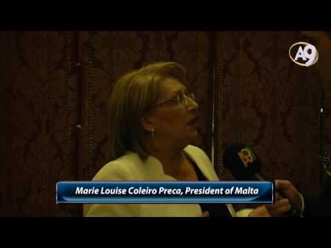 Marie Louise Coleiro Preca, President of Malta