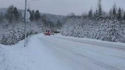 Liikenneonnettomuus, Kuopio / Car accident in Kuopio 23.12.2008