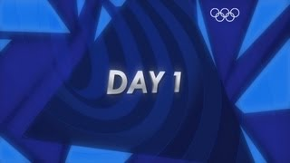Daily Roundup: of Day 1 -  London 2012 Olympic Games