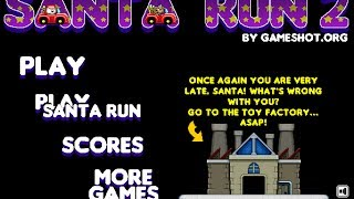 Santa Run 2 Level 1-4 Walkthrough