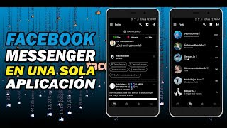 FACEBOOK Y MESSENGER EN UNA SOLA APLICACION - MEJOR ALTERNATIVA 2018