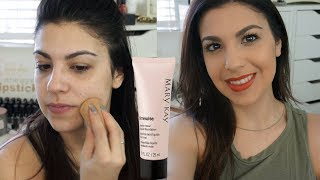 mary Kay Timewise Matte Wear Foundation Review and Demo