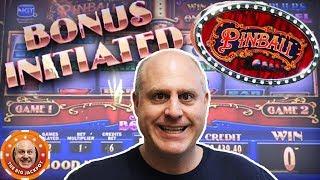 HIGH LIMIT Pinball WIN-Ball! 🎰3 Different Pinball Machine Wins 🎰| The Big Jackpot