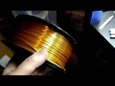 Zhuopu New Materials Silk Gold PLA