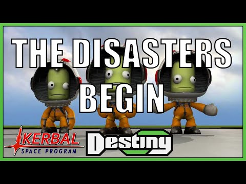 Kerbal Space Program - The Disasters Begin