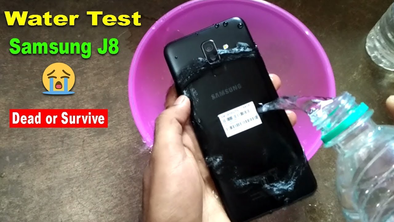 purchase cheap 00ee8 36f1b WATER TEST Samsung Galaxy J8 Infinity - Will it Survive or Dead??