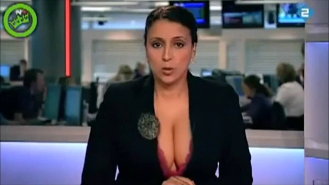 sexy newsreader with nice boobs live on tv ! uncensored ! - youtube