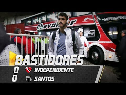 Independiente 0 x 0 Santos | BASTIDORES | Libertadores (21/08/18)