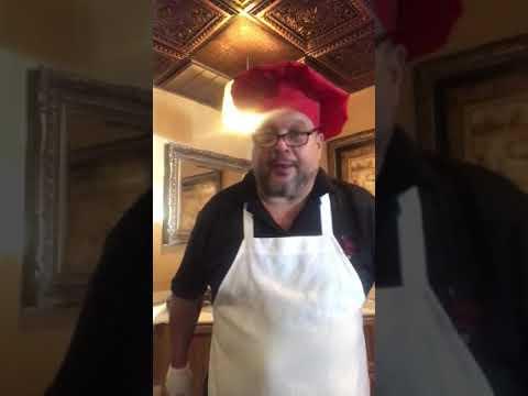 Chef Tommy Giordano home made lobster ravioli