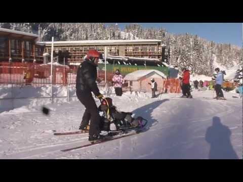 Evan's Sunshine Ski Day