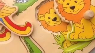 Музыкальные пазлы для Детей - Goki - Деревянные Пазлы для Малышей от 1 года