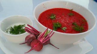 Необычный свекольный суп для детей и всей семьи Beet soup