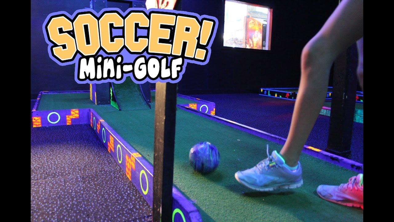Soccer Mini-Golf at the Family Fun Center XL in Omaha - YouTube