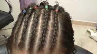 Como hacer trenzas africanas de raiz