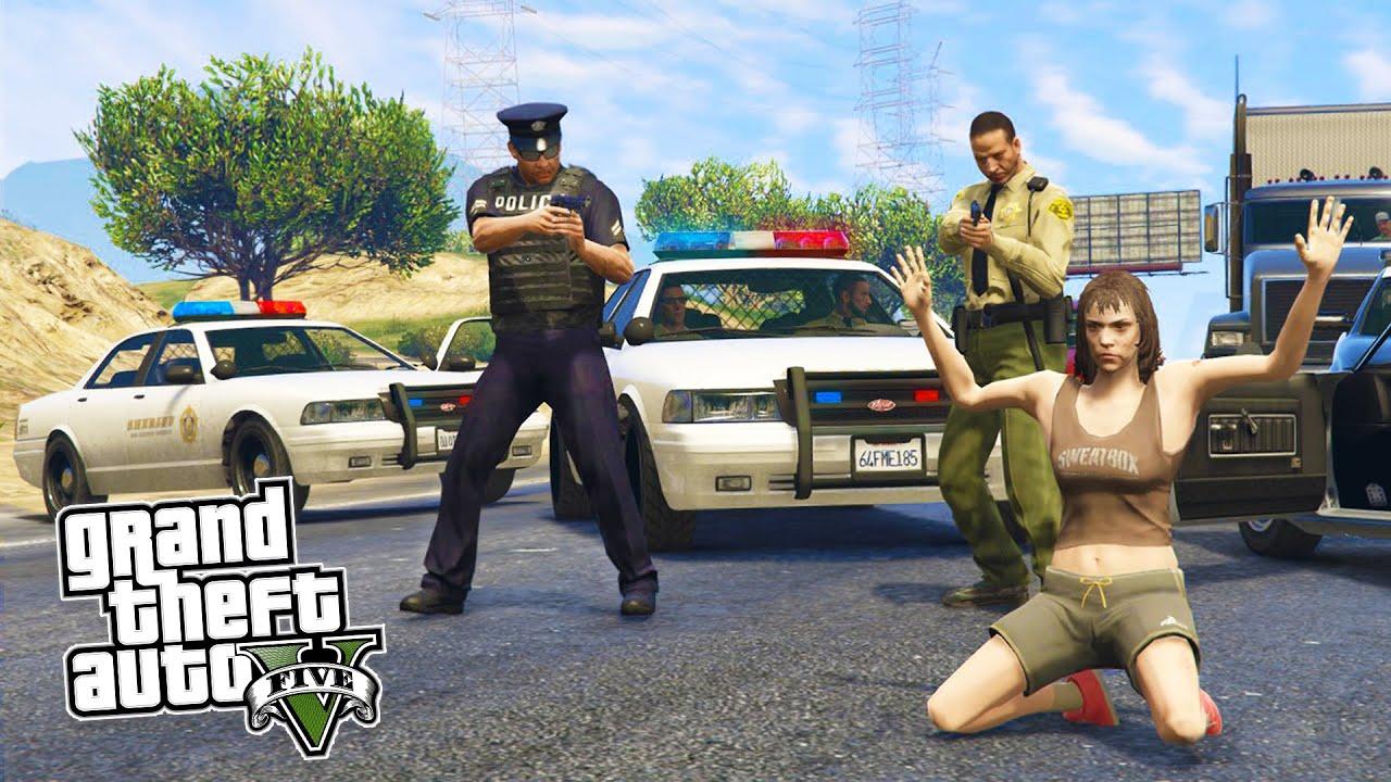 GTA 5 PC Mods - PLAY AS A COP MOD #5! NEW GTA 5 LSPDFR Police Mod Gameplay!  (GTA 5 Mod Gameplay)