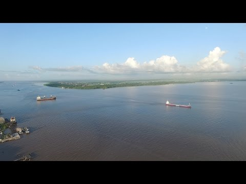 The Real Guyana Drone - Georgetown From Above - Pt1