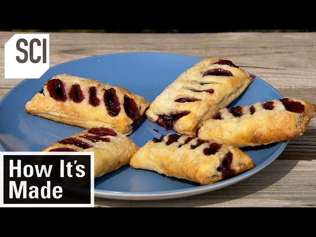 How It's Made: Blueberry Turnovers