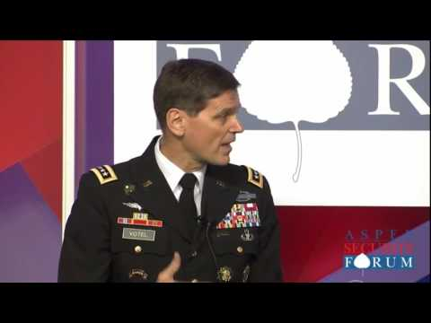 Centcom Commander Speaks at Security Forum