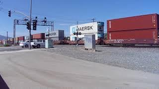 Bnsf Eastbound Double Stack Intermodal Train
