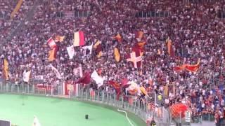 Roma-Chievo, il saluto della Sud per Bonucci, 18.10.2014
