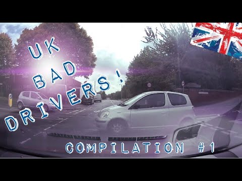 UK Idiot Bad Drivers Caught on Dash Camera #1 Compilation