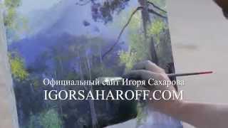 ПОЛНЫЕ ВИДЕО ИГОРЯ САХАРОВА! Пленэр с Игорем Сахаровым