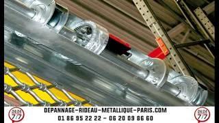 REPARATION RIDEAU METALLIQUE  - 01 86 95 22 22 - depannage-rideau-metallique-paris.com