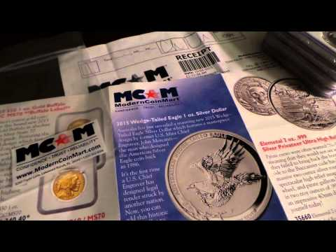 MODERNCOINMART.com 2015 Online Precious Metal Dealer Reviews! #7
