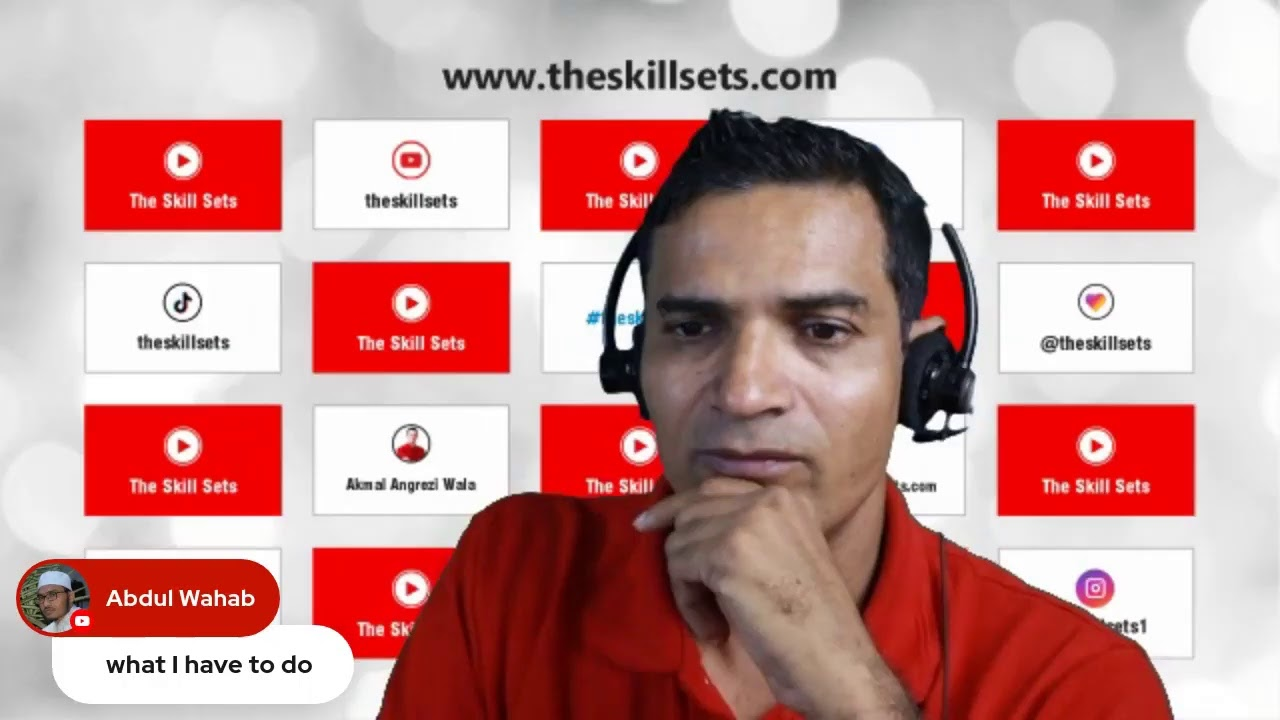If you want to learn English you must watch this | Akmal Angrezi Wala | The Skill Set