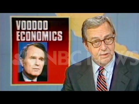 Bernie Sanders, Bush, Perot: Voodoo Economics (Trickle Down that Didn't Trickle)