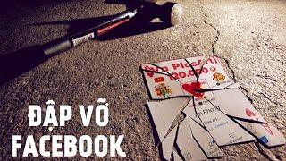 Hướng dẫn tạo ảnh ĐẬP VỠ FACEBOOK | PicsArt Editing