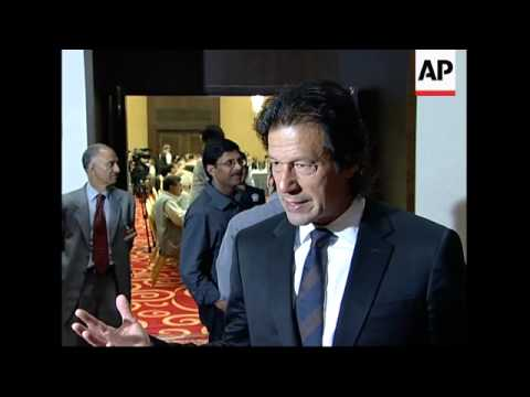 Imran Khan and other Pakistan opposition leaders meet in London