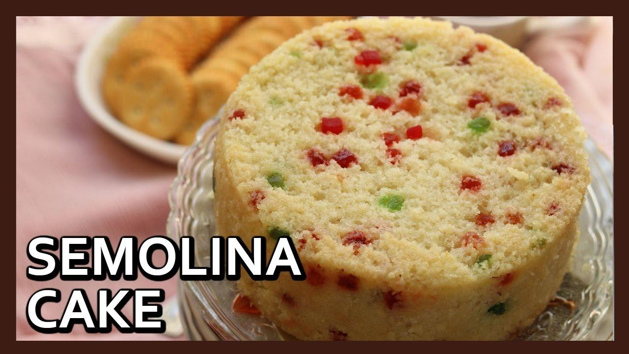 Rava cake recipe in pressure cooker sooji cake eggless semolina rava cake recipe in pressure cooker sooji cake eggless semolina cake by healthy kadai forumfinder Choice Image