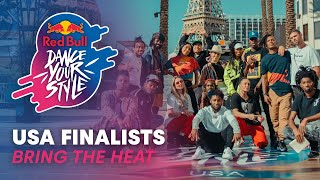 Red Bull Dance Your Style USA Finalists Bring The Heat | Red Bull Dance Your Style