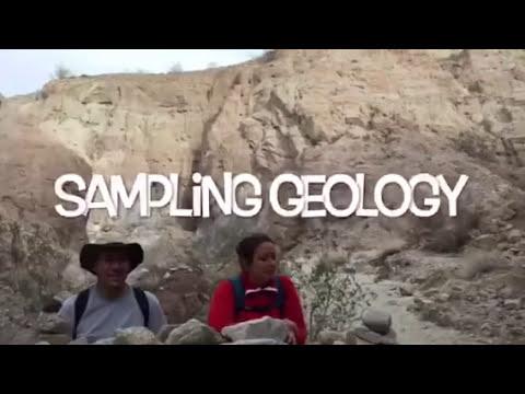 Sampling Geology