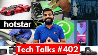 Tech Talks #402 - Samsung New Design, Ferrari Vs Tesla, Jio 153 Plan, IPL 2018, Hike Total, SD 670