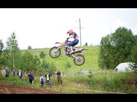 Соревнования по мотокроссу в Кировской области. г. Слободской.