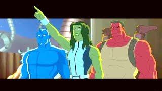 Marvel -Халк и агенты СМЭШ 2 -Сборник мультфильма о супергероях Все серии подряд (Сезон 1 серии 5-8)