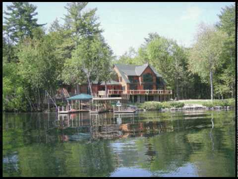 39 waterfront homes on lake winnipesaukee lakes region new for Home builders in new hampshire