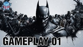 Batman Arkham Origins Gameplay Commentary 01