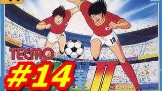 Captain Tsubasa 2 NES #14 Nankatsu  vs Furano (English) HD