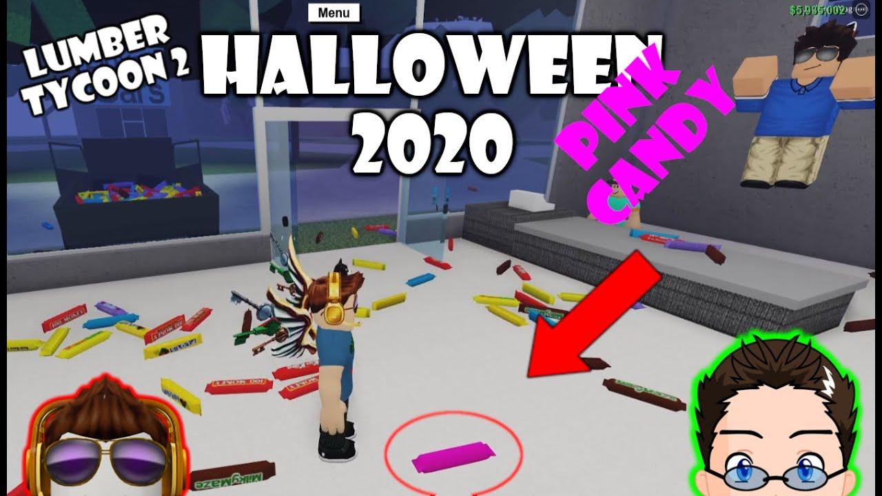 Lumber Tycoon Halloween 2020 Roblox   Lumber Tycoon 2   Halloween 2020 New Items, WE GOT PINK