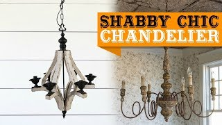 50+ Shabby Chic Chandelier Ideas for You