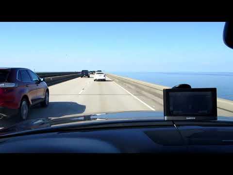 Crossing The Lake Pontchartrain Causeway