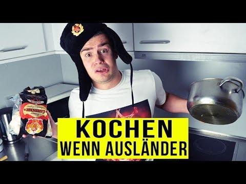 Wenn AUSLÄNDER KOCHEN ..
