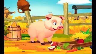 Учим Домашних Животных Для Детей ♦ Развивающий Мультик Про Зверей ♦ #животные