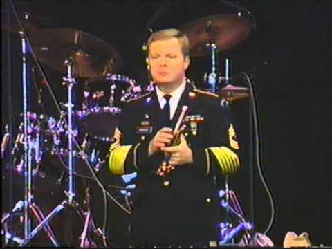Volunteers of US  Army Field Band in Franklin PA 1991