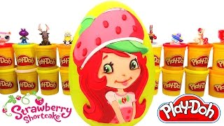 Çilek Kız Sürpriz Yumurta Oyun Hamuru - Strawberry Shortcake Shopkins Hello Kitty MLP LPS
